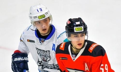 Хоккеист системы «Барыса» и молодежной сборной Казахстана дисквалифицировали за допинг
