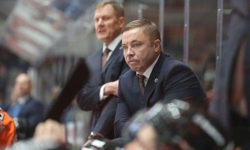 Клуб КХЛ из конференции «Барыса» заключил новый контракт с главным тренером