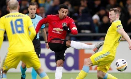 Забивший «Астане» игрок «Манчестер Юнайтед» поразил болельщиков своим трюком. Видео