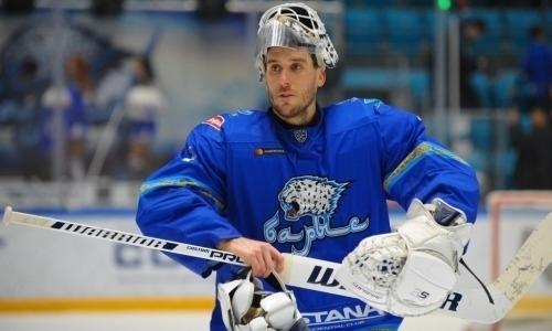 «Сезон не заладился». Озвучено будущее вратаря сборной Казахстана в «Барысе»