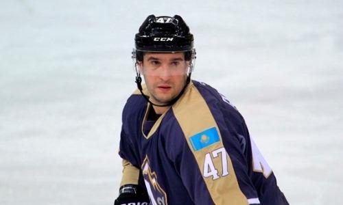 30-летний хоккеист покинул клуб чемпионата Казахстана