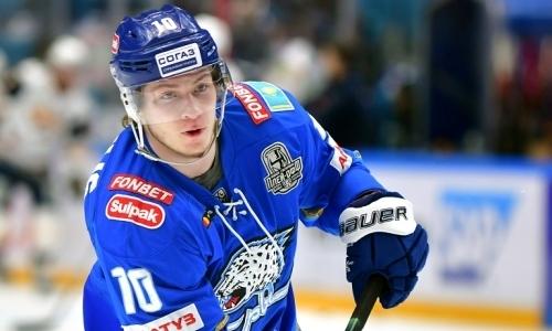 Озвучена информация о переходе лучшего хоккеиста Казахстана из «Барыса» в другой клуб КХЛ