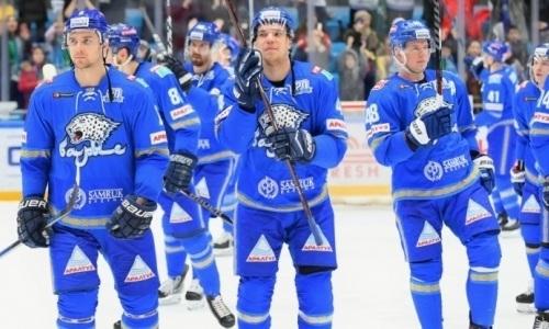 «Барыс» провел третий матч виртуальной серии плей-офф КХЛ с «Сибирью»