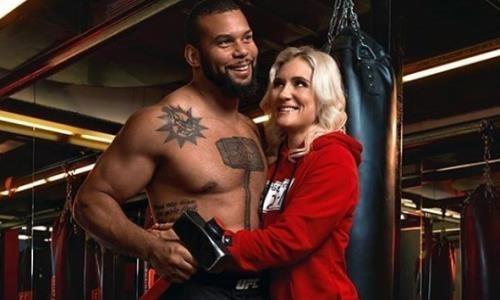 Российская девушка-боец UFC объявила о беременности от известного бразильского файтера. Фото
