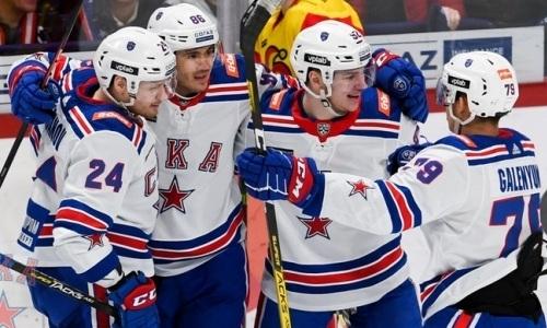 Без «Барыса». Определились три участника полуфиналов виртуального плей-офф КХЛ