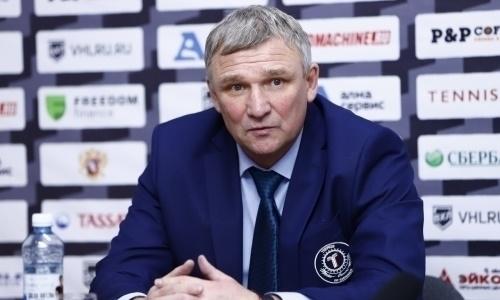 Выступающий в ВХЛ казахстанский клуб определился с главным тренером