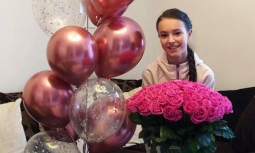 Ученица тренера Турсынбаевой показала, как отмечать дни рождения в нынешних условиях