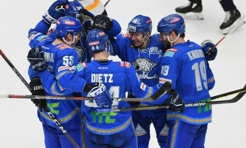 «Сияет на льду!». Игрока «Барыса» включили в тройку лучших в КХЛ
