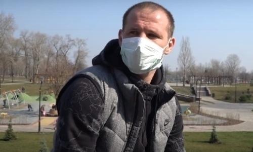 Назвавший коронавирус фейком экс-футболист клуба КПЛ пожаловался на симптомы болезни. Видео