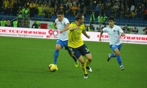 Казахстанскому футболисту вдвое сократят зарплату в клубе РПЛ