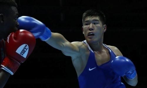 Видео нокдауна четырехкратного чемпиона мира 22-летним казахстанцем на ЧМ-2019