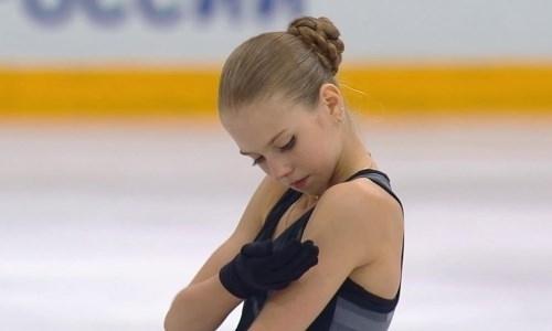 Подопечная тренера Турсынбаевой впервые в истории сделала четыре четверных прыжка в одной программе. Видео