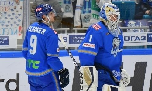«Барыс» безвольно проиграл «Металлургу» во втором матче плей-офф КХЛ