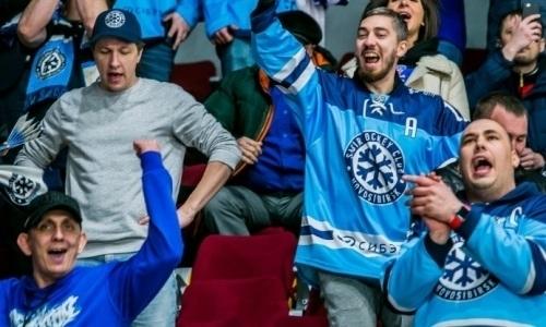 Болельщики «Сибири» считают виртуальную серию с «Барысом» полным бредом