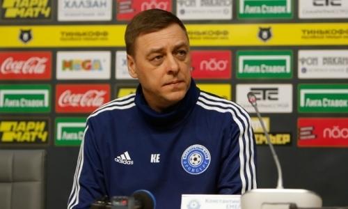 Клуб футболиста сборной Казахстана в РПЛ неожиданно сменил главного тренера