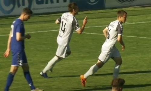 Видео гола, или Как казахстанский футболист помог вырвать ничью своему клубу на 87 минуте