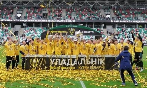 Гол на 121-й минуте решил исход финала Кубка Беларуси с участием уроженца Казахстана. Видео