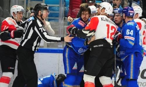 Лучший бомбардир «Барыса» нанес серьезный удар по принципиальному сопернику казахстанцев в КХЛ