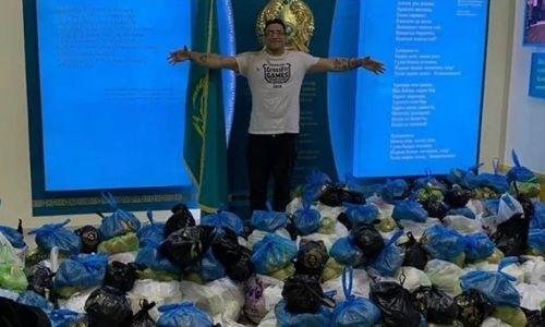 «Согрели мое сердце». Бразилец приехал в Казахстан тренировать бойцов ММА и стал из-за коронавируса волонтером