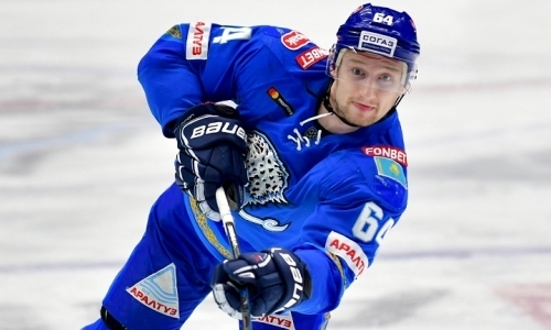 «Эта цель подстегивает работать и двигаться вперед». Казахстанский форвард «Барыса» блеснул в КХЛ и мечтает сыграть в НХЛ