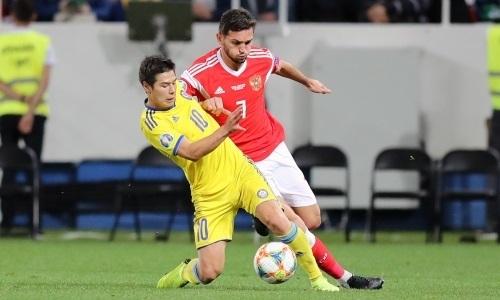 «Казахстанцы создали гораздо больше проблем». Хавбек сборной России вспомнил матч отбора на ЕВРО-2020