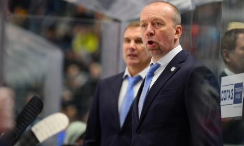 В России объяснили задержку «Барыса» с объявлением нового главного тренера