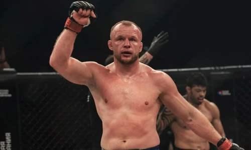 Российская легенда ММА выступит в UFC от Казахстана?