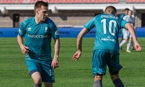 Самая казахстанская команда Беларуси забила первой и была уничтожена чемпионом страны