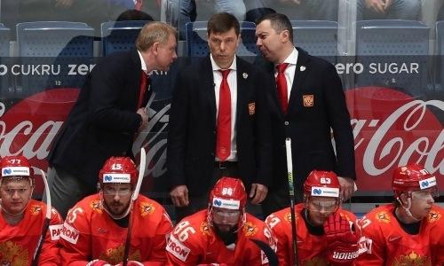 «Барысу» предложили на пост главного тренера наставника СКА и сборной России