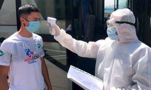 Казахстанские спортсмены возвращаются к тренировкам и пройдут тестирование на COVID-19