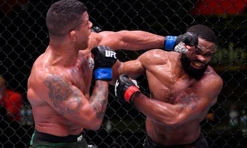 Обнародованы гонорары Тайрона Вудли и других участников турнира UFC on ESPN 9