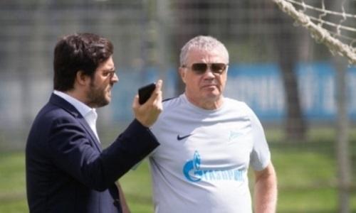 В «Зените» отреагировали на сообщения о появлении экс-игрока «Кайрата» в руководстве клуба