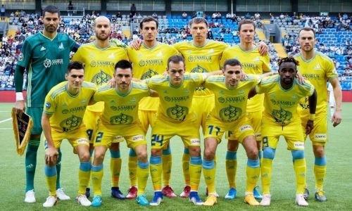 УЕФА представил рейтинг казахстанских клубов завсю историю Лиги Европы ивключил футболистов «Астаны» всписок «долгожителей» турнира