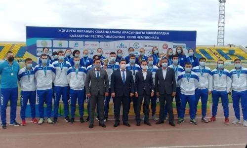 Стали известны победители чемпионата Казахстана