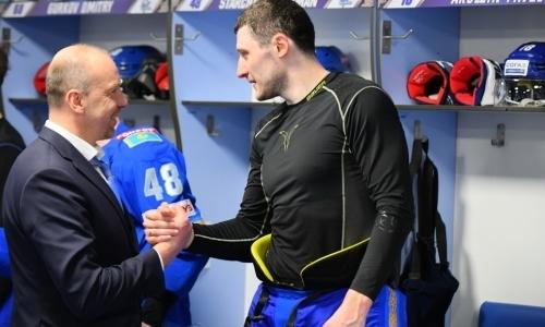 «Знак благодарности». «Барысу» сообщили о дружеском жесте его экс-наставника до старта КХЛ