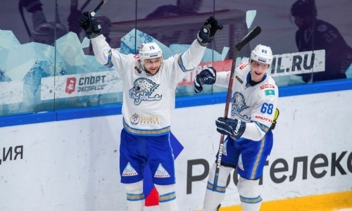 «Барыс» познакомил болельщиков с новым другом хоккеиста сборной Казахстана