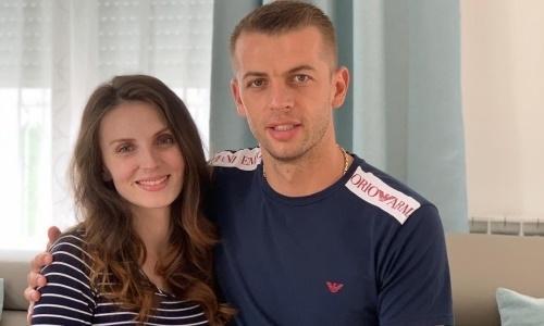 В семье футболиста «Кайсара» родился сын. Ребенка назвали Маттео