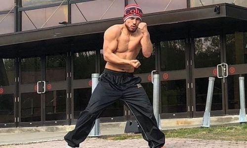 Садриддин Ахмедов продолжает тренировки в Нур-Султане