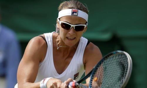 Восемь лет назад казахстанская теннисистка оформила «золотой сет» на «Уимблдоне». Видео