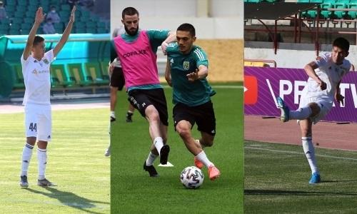 Три футболиста дебютировали за «Тобол» в матче КПЛ против «Каспия»
