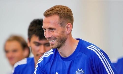 «Астана» официально объявила об уходе футболиста сборной Казахстана