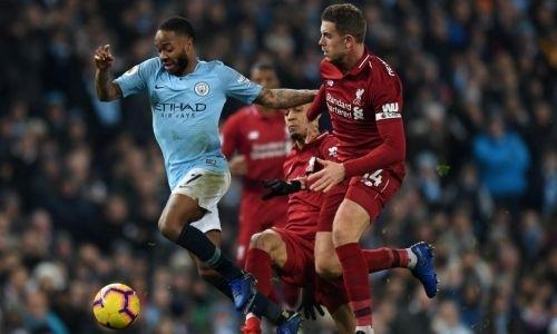 Прямая трансляция матча АПЛ «Манчестер Сити» — «Ливерпуль»
