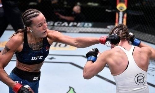 Казахстанка Мария Агапова показала свой отдых после яркого дебюта в UFC