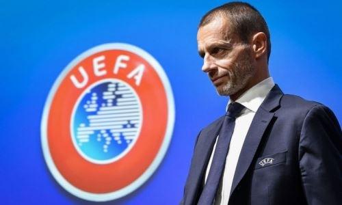 УЕФА выделит футболу Казахстана средства из суммы 775 миллионов евро
