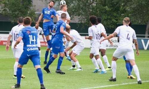 Футболист сборной Казахстана сыграл против участника Лиги Чемпионов