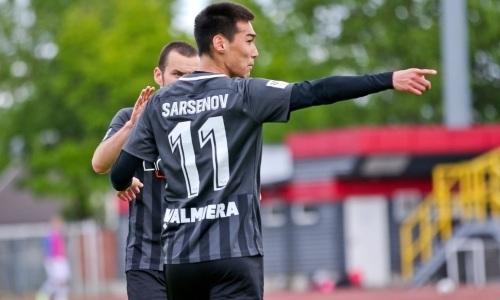 Казахстанский форвард забил первый гол за европейский клуб
