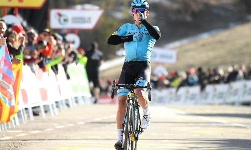 «Старался держаться в группе лидеров». Как «Астана» стартовала на виртуальном «Тур де Франс»