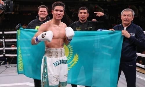 Промоутер Данияра Елеусинова анонсировал его скорое возвращение на ринг