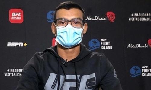 Бразилец объяснил, почему подписал контракт на бой UFC с Жумагуловым