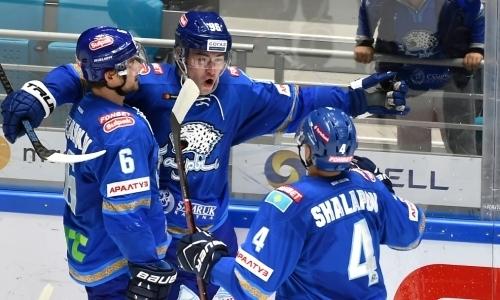«Это был его вечер». КХЛ в восторге от выступления казахстанца из «Барыса» и его сольного гола. Видео